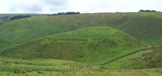 Cow Castle Iron Age Hillfort, Somerset. © Copyright Maurice Clements